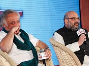 Amit Shah, Jairam Ramesh debate on Narendra Modi, minorities on Panchayat Aaj Tak