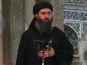 ISIS leader Abu Bakr al-Baghdadi seen in a video