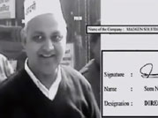 Signature nails AAP leader Somnath Bharti's lies