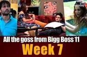 Puneesh-Bandgi's bathroom romance to Shilpa-Akash's spat: 6 things that happened on Bigg Boss 11 this week