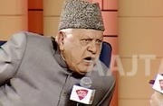Forget the old wounds, move forward not backwards: Farooq Abdullah at Agenda Aaj Tak 2017