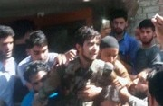 Hizbul Mujahideen militant gets grand welcome after evading security forces