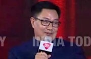 Kiren rijiju flaunts his fitness