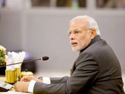 Narendra Modi in Nepal for SAARC Summit