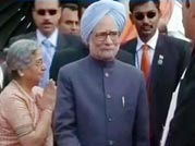 Prime Minister Manmohan Singh arrives in Cambodia for ASEAN meet