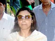 Rani Mukerji spotted with Pamela Chopra