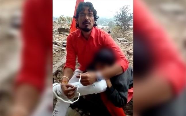 Shambunath Raigar, who was filmed burning a Muslim man alive.