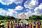 This year the Taj, which attracts millions of tourists every year, has been in the news not exactly for the right reasons.