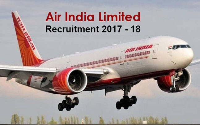 air india recruitment 2017-18