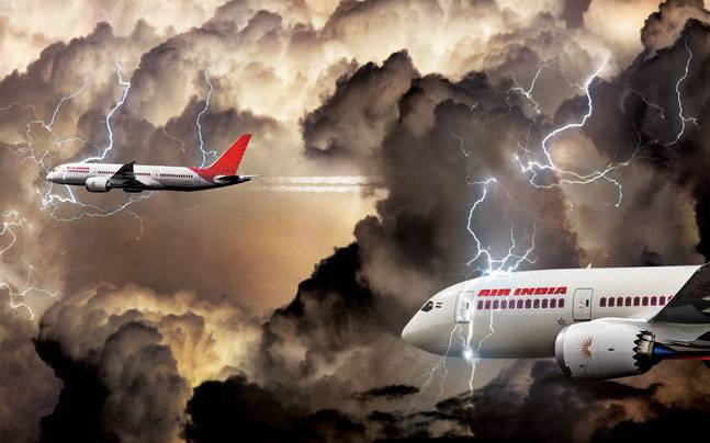 The government is looking at privatising debt-ridden Air India.