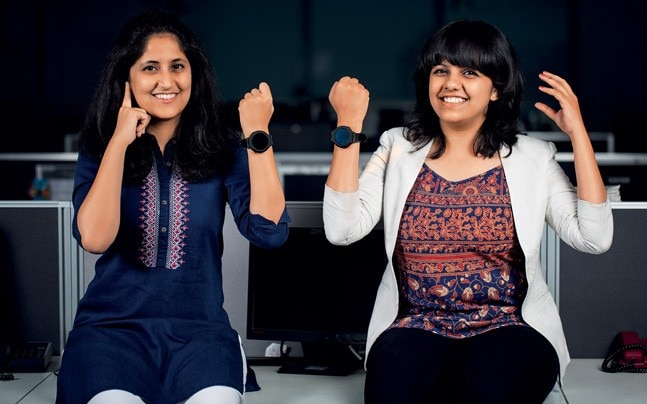 Janhavi Joshi (left) and Nupura Kirloskar. Photo: Danesh Jassawala