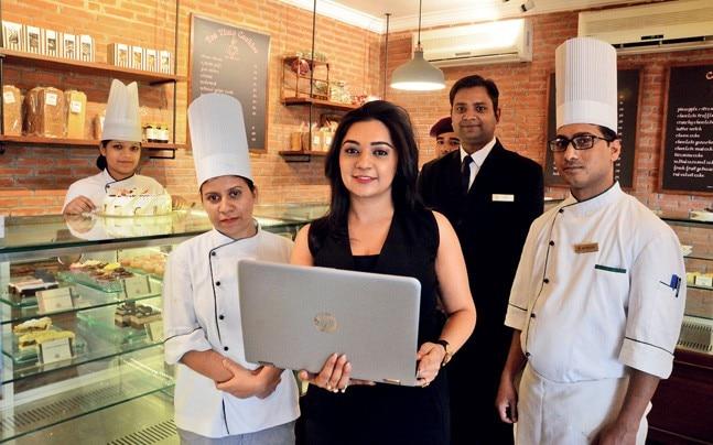 A virtual marketplace for the hospitality sector. Photo: Pankaj Tiwari