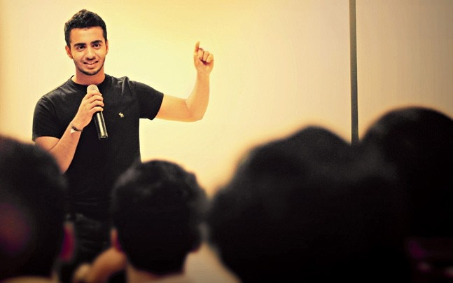 Angad Daryani, the founder of Sharkits, a low-cost DIY kit company for skill building.
