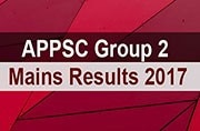APPSC Group 2 Mains Results 2017: Declared at psc.ap.gov.in