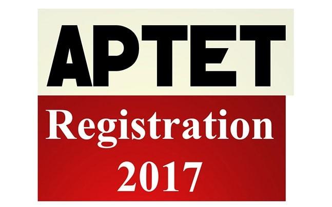 APTET Registration 2017: Apply before January 17