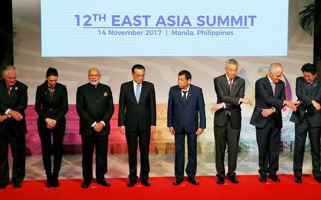 ASEAN Summit in Manila. Photo: Reuters.