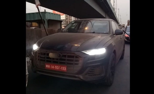 Audi Q8 spotted again, this time in Spain - Auto News