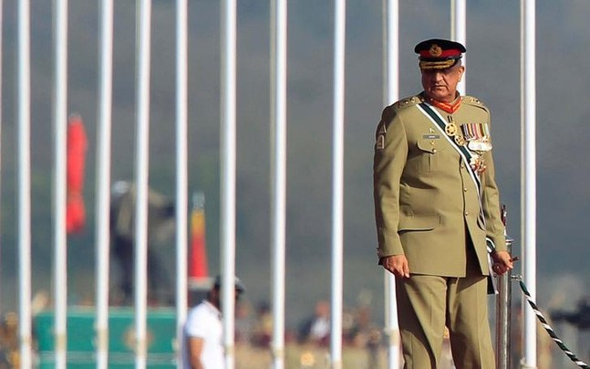 His pro-democracy reputation helped Bajwa earn his fourth star. Photo: Reuters