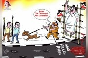 Unfazed by 2 FIRs, cartoonist Bala is back with scribble on his arrest, Ragu death