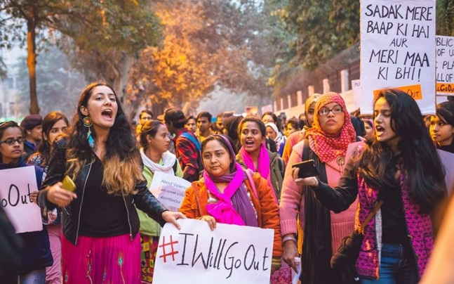 Incidents of violence against women led to the multi-city #IWillGoOut protests in India (Twitter/@IWillGoOut)