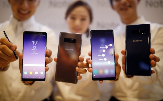 Best of 2017: Samsung Galaxy Note 8 most premium high-end phone, Xiaomi Redmi 5A best entry-level option