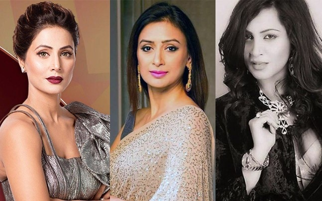 Hina Khan, Gauri Pradhan and Arshi Khan