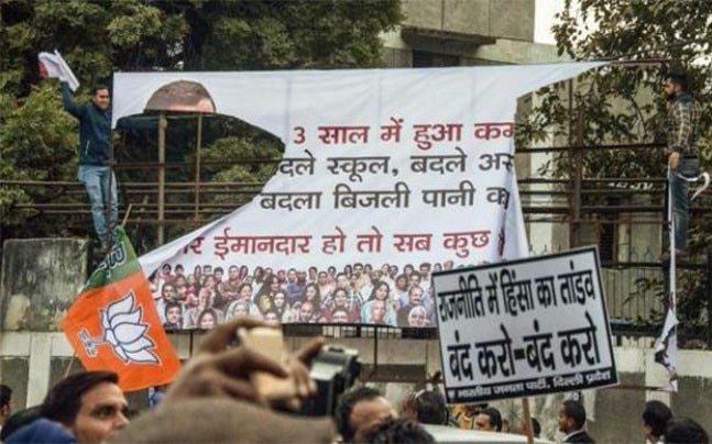 Kejriwal apology row: Sirsa brings out posters against CM