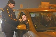 Out partying? Make sure your cabbie isn't drunk as well