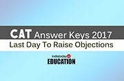 CAT Answer Keys 2017: Raise objections till 2 pm today at iimcat.ac.in