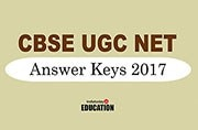 CBSE UGC NET Answer Keys 2017: How and where to check