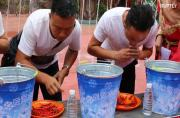 34 chillies scoffed in one minute during heat-packed contest