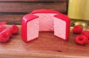 Yuck: After pink chocolate, the world is now getting pink cheese