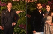 Virat and Anushka Mumbai reception: Watch the couple burn the dance floor with Shah Rukh