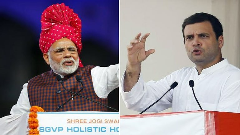 Narendra Modi and Rahul Gandhi are leading BJP and Congress election campaign, respectively, in Gujarat.