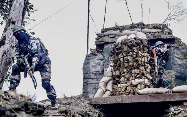 An Alpha Company bunker along the LoC in Rajouri, J-K. Photo credit: Yasir Iqbal