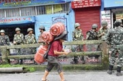Darjeeling saw a lot of unrest this year due to Gorkhaland protests.