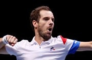 Davis Cup final: France win doubles to go 2-1 up against Belgium