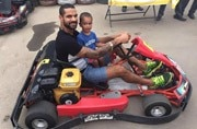 Shikhar Dhawan's video of son Zoraver cutting birthday cake goes viral