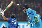 MS Dhoni's magical performance behind the stumps. WATCH