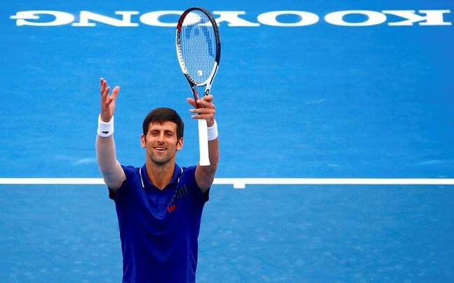 Novak Djokovic shuns cameras in Melbourne hit-out