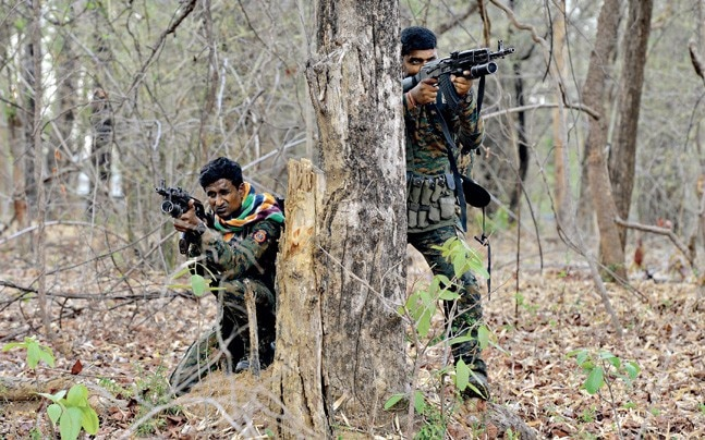 Maharashtra's C-60 police commandos in the forests of Gadchiroli
