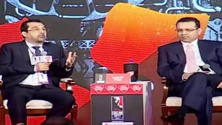 Sanjiv Puri and Sanjiv Goenka at India Today Conclave East 2017 in Kolkata.