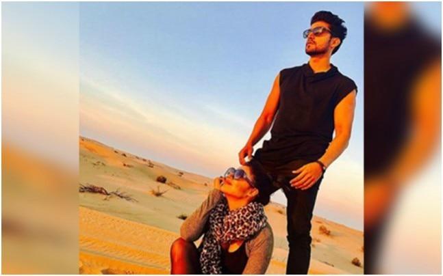 Debina and Gurmeet in Dubai. Picture courtesy: Instagram/guruchoudhary