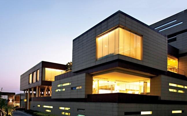 India Glycols Headquarters in Greater Noida economises energy. Photograph by: Jatinder Marwaha; Courtesy: Morphogenesis