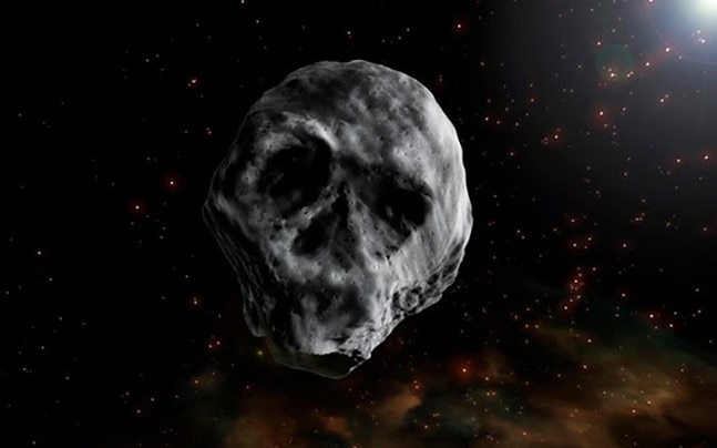 Skull rock Halloween Asteroid to fly be Earth in November 2018