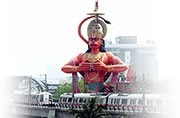 Airlift 108-foot Hanuman statue from Karol Bagh, says HC: 10 signature landmarks of the capital