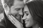 The official portraits of Prince Harry and Meghan Markle