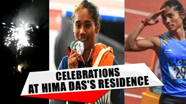 As Hima Das won a nail biting silver in the Asian Games, Dhing went wild with happiness