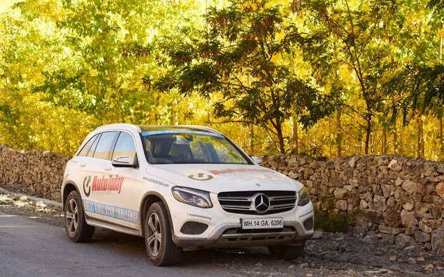 We start on an epic journey to conquer the highest passes in the country in a Mercedes-Benz GLC.