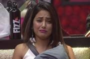 Bigg Boss 11 contestant Hina Khan sheds tears; wants Bigg Boss to apologise to her
